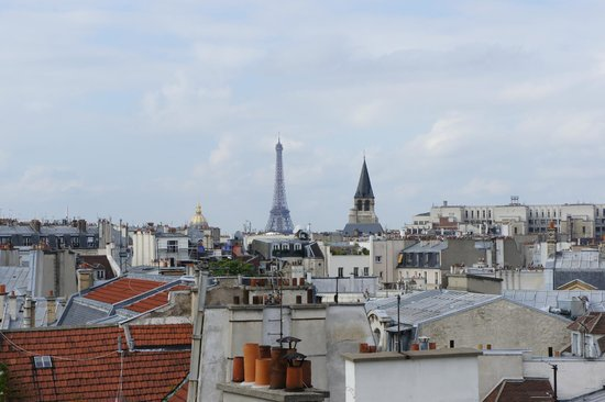 Holiday Inn Paris - Notre Dame : View from room