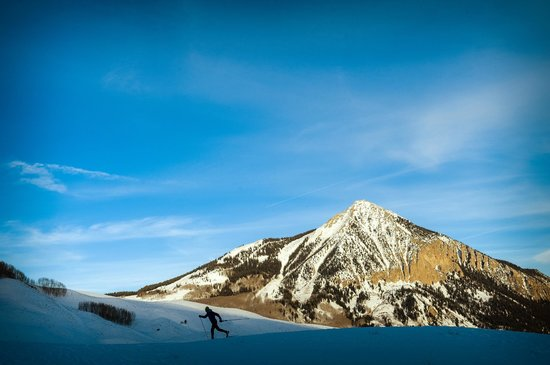 Crested Butte Nordic Center: Ski in and Out of Town