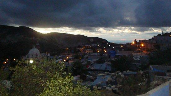 Refugio Romano: Vista Desde el Balcon/ Terraza