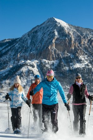 Crested Butte Nordic Center: Snowshoe Tours