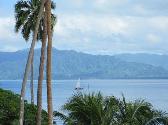 Daku Resort : View from #9