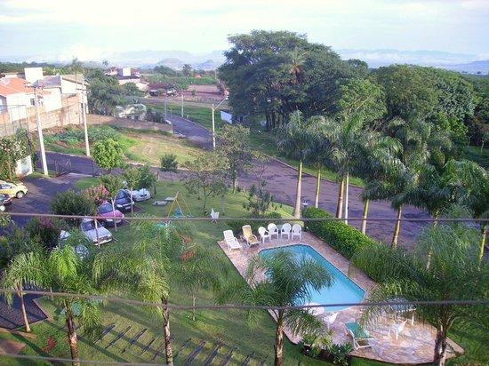 Vila Das Palmeiras Hotel Pousada: Vista do Apartamento
