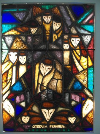 Museum Het Valkhof: Chris Le Roy stained glass