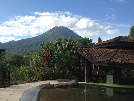 Hotel Mountain Paradise : view from the heated pool