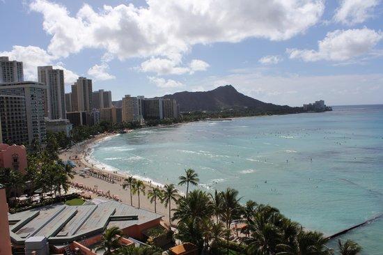 Sheraton Waikiki: Top View