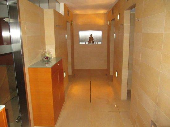 Hotel Wolf-Dietrich: Спа салон. Здесь находятся парная, сауна и массажная комната.