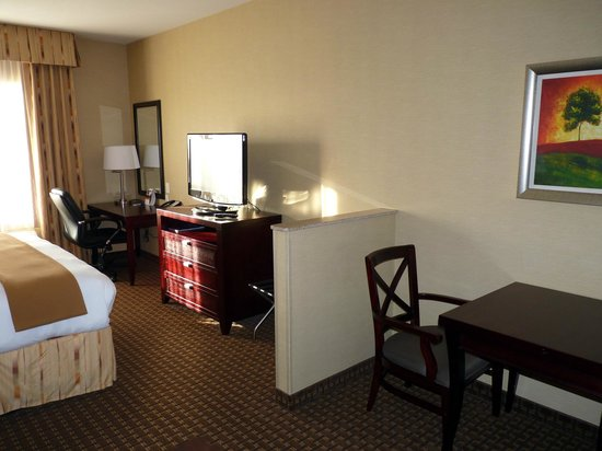 Holiday Inn Express Hotel and Suites Newport: room without art