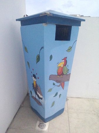 Samui Verticolor: Забавные мусорки