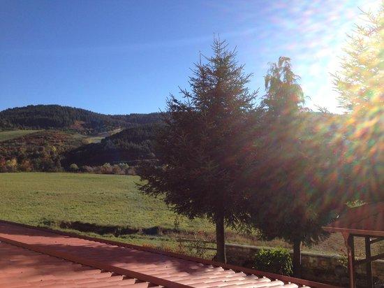 Agriturismo Valle del Salto: Panorama dalla camera