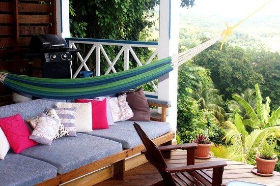 The Champs, Hotel, Restaurant & Bar: Garden Deck