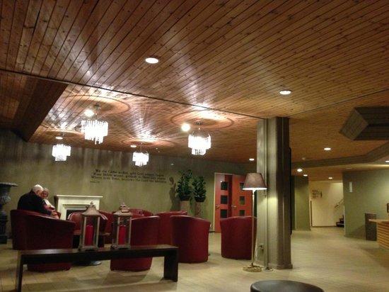 Das Hotel Panorama: Lobby