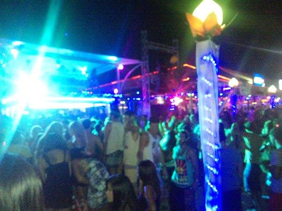 Ark Bar Beach Resort: Танцуют ВСЕ!
