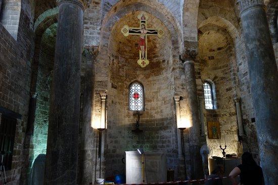 Church of San Cataldo: interior