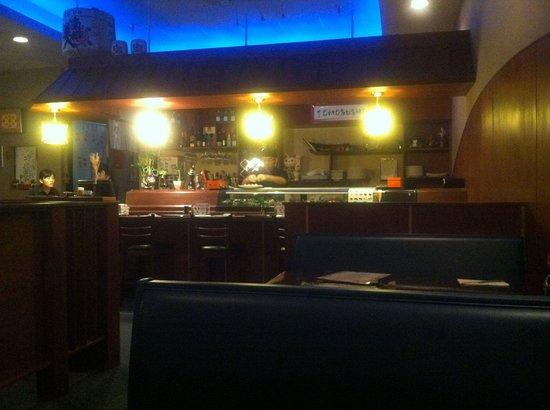 Inside Tomo Sushi