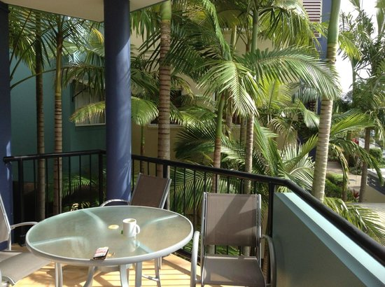 Twin Quays Noosa: Apartment Balcony