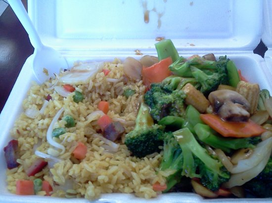 China Wok: Chinese Mixed Vegetables Lunch