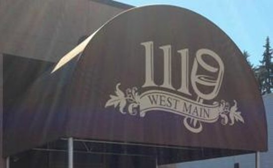 1110 West Main Ltd: Front of the restaurant