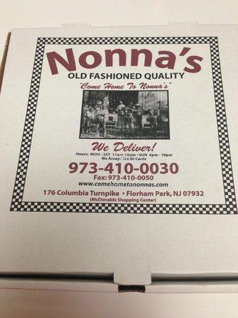 Nonna's Italian Restaurant : Nonna's