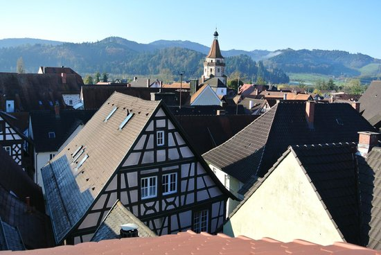 Pituresque Gengenbach from my room