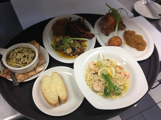 1110 West Main Ltd: Examples of some of our entrees