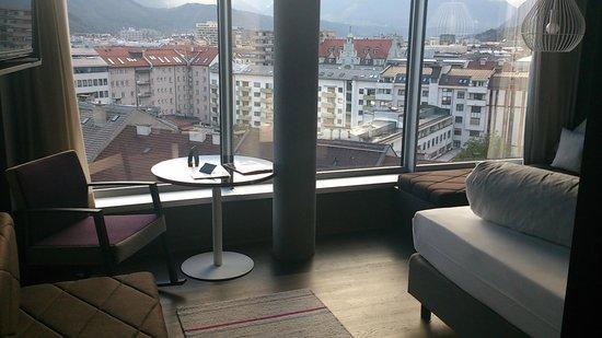 Adlers Hotel: 部屋からの眺め