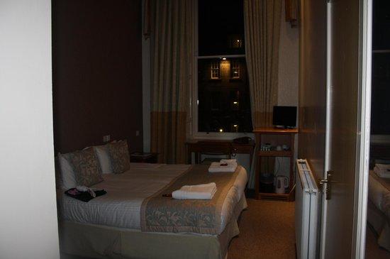 28 York Place Hotel: Camera matrimoniale