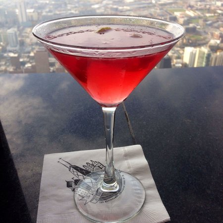 Signature Lounge: Cosmo with a view