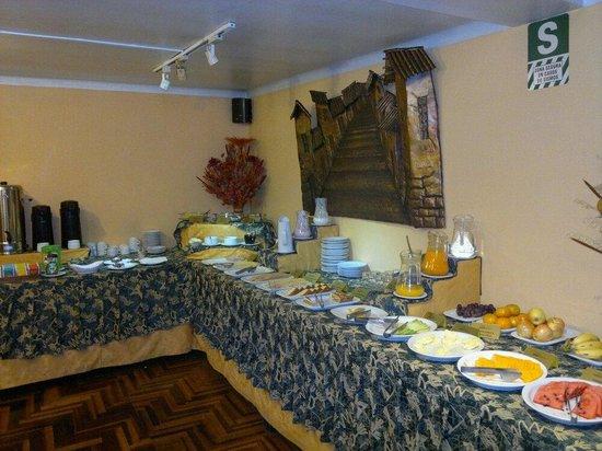 BEST WESTERN Los Andes De America: Rico desayuno