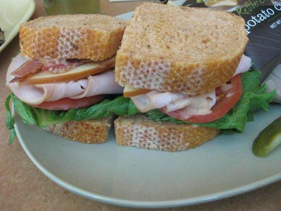 Bacon Turkey Bravo Sandwich Picture Of Panera Bread Milwaukee