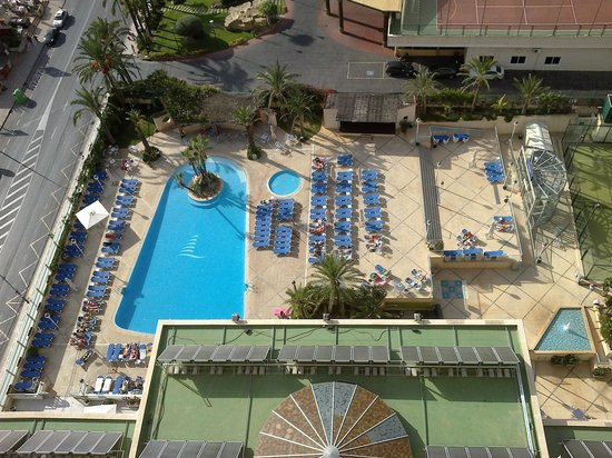 Hotel Levante Club & Spa : pool view from room