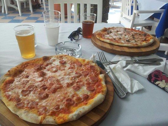 VOI Vila do Farol: Le pizze dello snack bar buonissime