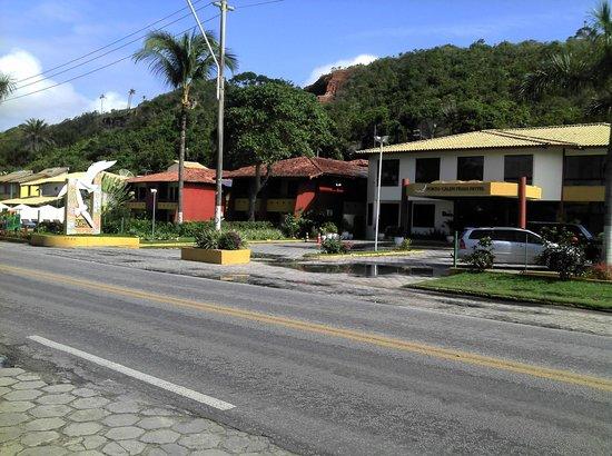 Porto Calem Praia Hotel: Frente do Hotel
