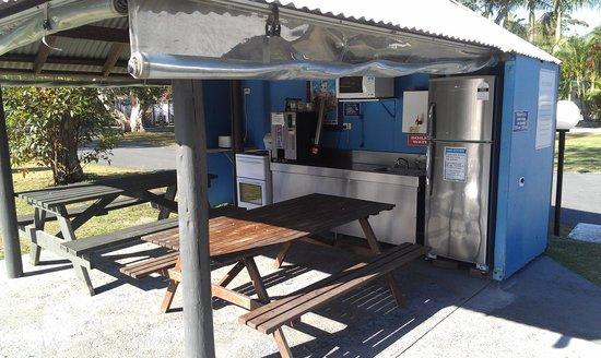 BIG4 Tweed Billabong Holiday Park: Old Camp Kitchen