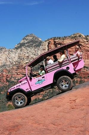 Pink Jeep Tours Sedona: Pink Jeep Tours 1