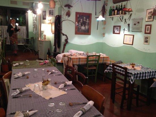 La Carabaccia: Rear Dining Room
