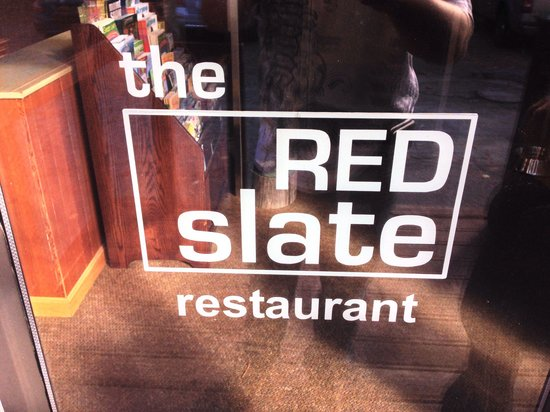 The Upper Pass Lodge : Red Slate is the name of the restaurant