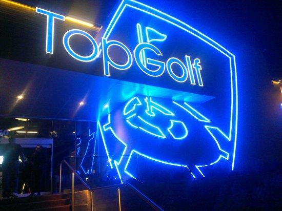 TopGolf Dallas: TopGolf Entry
