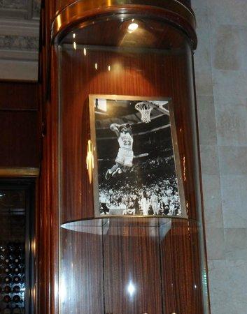 Michael Jordan's The Steak House N.Y.C.: picture of Jordan