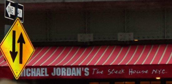 Michael Jordan's The Steak House N.Y.C.: sign