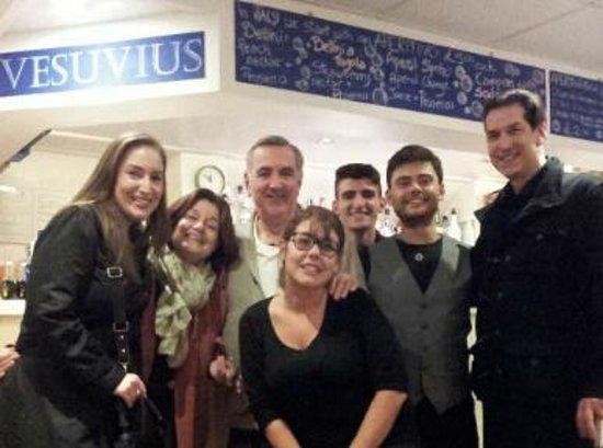 Vesuvius: Wonderful hosts, Alessandro & Barbara.