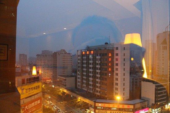 Tianfu Sunshine Hotel: panorama finestra