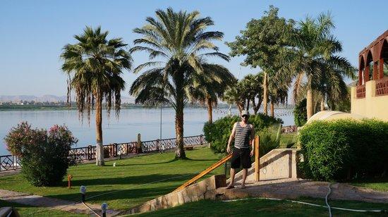 Mercure Luxor Karnak: Vista para o Rio Nilo