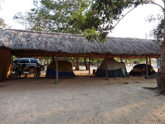 Parque Estadual de Jalapão, TO: Camping do Vicente - Jalapão