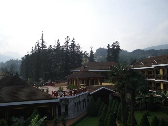 Victoria Sapa Resort and Spa : View from our room