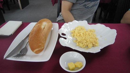 DDA Hotel District 1 (BIZU) : 西式早餐~有多種選擇