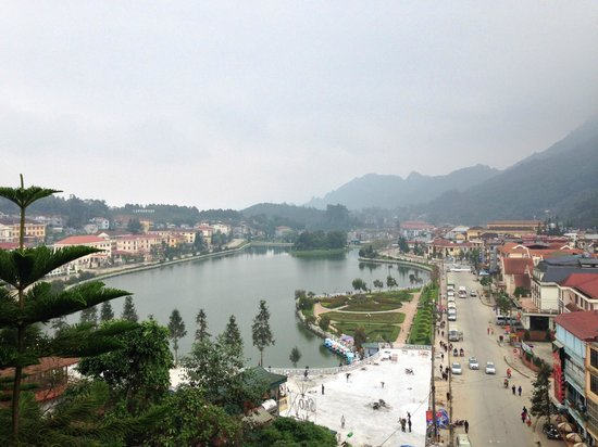 Victoria Sapa Resort and Spa: View from our hotel room door