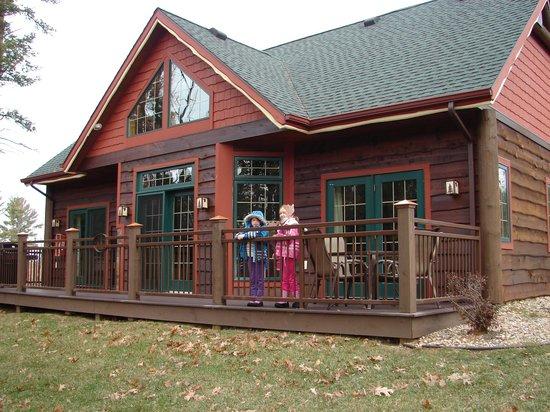 Wilderness Resort: Rear vew 2011
