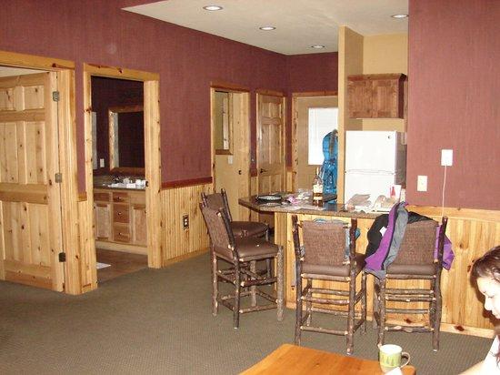 Wilderness Resort: Kitchen area