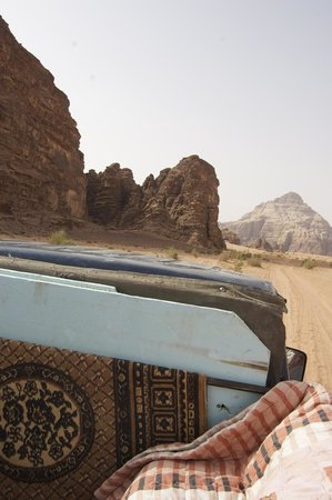 Obeid's Bedouin Life Camp: View from jeep ride