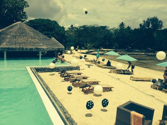 Breakas Beach Resort Vanuatu: Melbourne Cup decorations